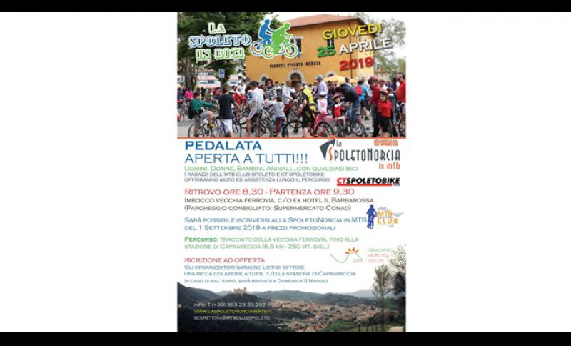 25 Aprile Torna La Spoleto In Bici