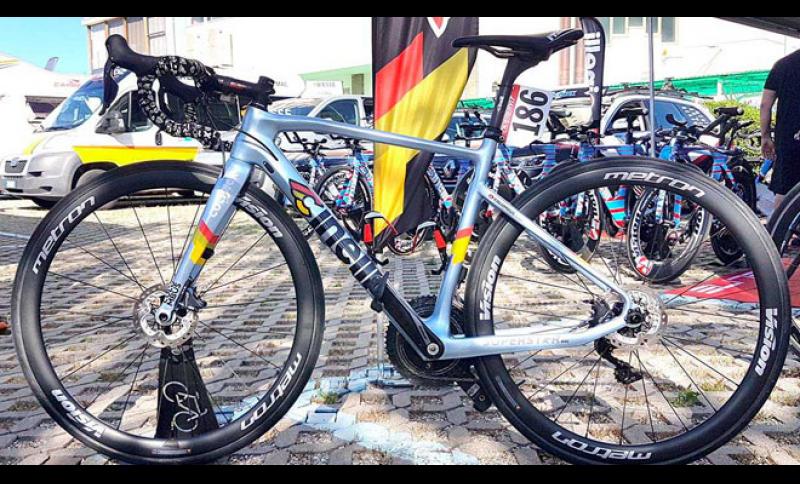 Giro U23 Dorigoni Colpack In Gara Con Una Cinelli Con Freni A Disco